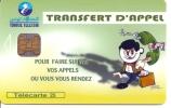 ** < Tunisie - Transfert D'appel - Tunisie