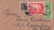 Gemeina. Brief Mif Minr.2x 915,943,965 Kassel 25.9.47 - Gemeinschaftsausgaben