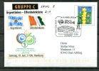 """Allemagne,Germany 2006 Privatplusbrief Fußball Mit SST""""Hamburg -FIFA WM 2006-Argentinien-Elfenbeinküste  """"1 Beleg Used, - Fußball-Weltmeisterschaft"""