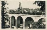 FRIBOURG -  ( Pont De Zaehringen Et Tour St Nicolas )                   (778) - FR Fribourg