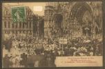 10____TROYES--Grand Concours Régional De L'est-23/24 Juin 1912--sortie De Messe Militaire--animé - Troyes