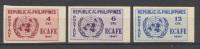 Filippine 1948 Y.T. 335/37 ND MNH VF - Filippine