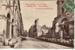Guerre 1914-1918 Notre Grande Ville Du Front Reims Rue Colbert - Guerra 1914-18