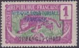 £9 - OUBANGUI - N° 43 - NEUF SANS CHARNIERE