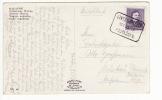 Hungary 1937 Balaton Picture Postcard With 16 F. Deak Definitive, Jankovichtelep To Muskau Oberlausitz (f185) - Ungheria
