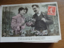 Oude Wenskaart Uit 1908 - Saint-Valentin