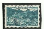ANDORRA CORREO FRANCES- SELLO USADO Nº 150a - Andorre Français