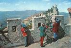 REPUBLICA DI S. MARINO - Balestrieri, Le Torri - Arbalétriers, Les Tours - Animation -  Format: 196 X 134 Mm     (803) - Saint-Marin