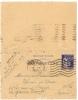 REF LDR5 / 6 - CARTE LETTRE PAIX 65c PARIS / LA GARENNE COLOMBES 19/3/1938 - Entiers Postaux