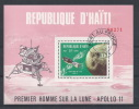 BZ--008 / III- REP. D´ HAITI - Superbe Feuillet Dentelé - 1 Er HOMME SUR LA LUNE  - APOLLO 11-     Occase A Saisir