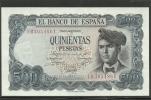 ESPAÑA- BILLETE DE 500Pts. Plancha. 23.de Julio De 1971 - [ 3] 1936-1975 : Regency Of Franco