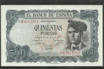 ESPAÑA- BILLETE DE 500Pts. Plancha. 23.de Julio De 1971 - [ 3] 1936-1975 : Régimen De Franco