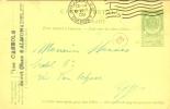 België Belgique Carte-postale 2 B Bordeaux Indépendance 1905 Obl. 68 Bruxelles Départ 10 Décembre 1908 - Entiers Postaux