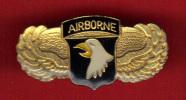 15069-aigle...airborne.mi Litaire.armee..USA.ameriq Ue.etats  Unis. - Militaria