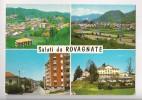 SALUTI DA ROVAGNATE VEDUTINE CARTOLINA FORMATO GRANDE VIAGGIATA - Other Cities