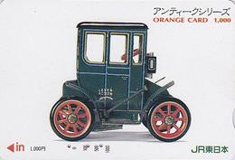 Carte Orange Japon - Jeu Série Jouet Ancien - Vieille Voiture - Oldtimer Car TOY Japan JR Card - Zug Spielzeug 04 - Jeux