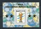 BRASILIEN Mi.Nr. Block 96 Fußball, Soccer -MNH - Fußball-Weltmeisterschaft