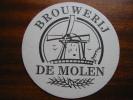 Brouwerij De Molen Beer Mat Beermat Coaster Sous-bock Bierdeckel Sottobicchiere - Sous-bocks