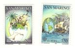 1992 - San Marino 1351/52 Scoperta Dell'America - Non Classificati