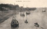 -80-  LE HOURDEL Marée Descendante  Environs De Cayeux - Bateaux De Pêche - Neuve Excellent état - France