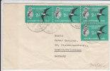British Solomon Islands 1961, Van Honiara-Guadalcanal Naar Friedenau-Berlin (4410) - Oiseaux