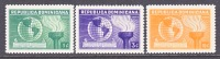 Dominican Rep. 332-4  **  GLOBE TORCH - Dominican Republic