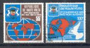 Obervolta - Haute-Volta 1976 - Michel 638 - 639 O - Obervolta (1958-1984)
