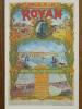 17 - ROYAN - ROYAN époque 1900 - Ancienne Affiche Des Chemins De Fer. (Réédition) - Royan