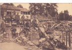 Amagne Zerstörung  Feldpost - France