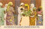 LEOPOLDVILLE-LA PRINCESSE ASTRID VISITE LA MATERNITE-mission-gynécologie-hôpital-dynastie - Kinshasa - Leopoldville