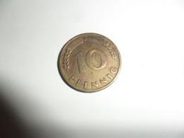 10 Pfennig J  1949 - 10 Pfennig