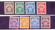 STT VUJNA PORTO, 1952 Cpl. (8 Vrednosti) - Joegoslavië