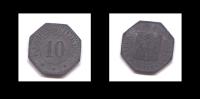10 KLEINGELDERSATZMARK- VERIWATTUNG DFR STADT - 1917 - Monétaires/De Nécessité
