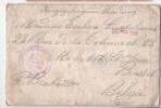KRIEGSGEFANGENEN SENDUNG Enveloppe Envoyée 23 XII 1916  Vers Molenbeek  De GOTTINGEN HANNOVER  Prisonnier + Contenu