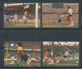 ST.LUCIA  Mi.Nr.B573-576 Fußball, Soccer Spanien 1982-MNH - Fußball-Weltmeisterschaft