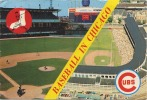 STADE -  STADIUM :  Basebale In Chicago :  Left - White Sox  //  Right - Cubs Of The National League (  Grand Format ) - Non Classés