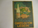 Eau Gazeuse Chatel Guyon - - Advertising