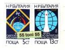 BULGARIA / Bulgarie  1988 Joint USSR Bulgaria Space Flight   2v.- MNH
