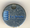 JETON CADDIE CADDY METAL - LE DOUBS - CONSEIL GENERAL - Trolley Token/Shopping Trolley Chip