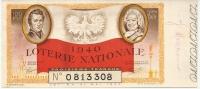 LOTERIE NATIONALE 1940 - Billets De Loterie