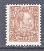 Iceland 39  * - 1873-1918 Danish Dependence