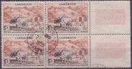 £9 - CAMEROUN - N° 300 - OBLITERE En BLOC De 4 - TTB - FIDES - Cameroun (1915-1959)