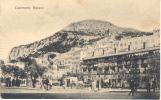 CASEMATES SQUARE GIBRALTAR CPA 1900s EDITEUR V.B. CUMBO ANIMEE RARE ORIGINAL - Gibraltar