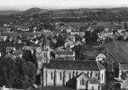 24] Dordogne -en Avion Au Dessus De..LE BUISSON -l´Eglise (Cadouin ) (Vue Aérienne) Année:1963-*PRIX FIXE - France