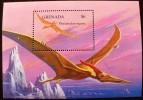 GRENADA Animaux Prehistoriques, Prehistoire (yvert BF 354) ** MNH, Neuf Sans Charniere - Briefmarken