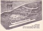 GROMODELL DER STADT FRANKFURT MIT IHREM VERKEHRSFLUGHAFEN RHEIN-MAIN AUF DER WELTAUSSTELLUNG 1958 IN BRUSSEL - Aviation