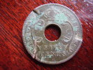 BRITISH EAST AFRICA USED FIVE CENT COIN BRONZE Of 1933 - British Colony