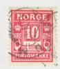 Norway  J 3  (o) - Port Dû (Taxe)
