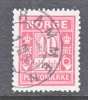 Norway  J 3a  Rose Red  (o) - Port Dû (Taxe)