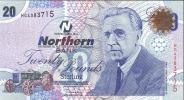 Irlande Du Nord   20£  Northern BANK  2006  AUNC - [ 2] Ireland-Northern